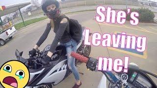 She's leaving me! | Honda Grom Crashes | R.I.P Casper's Forks