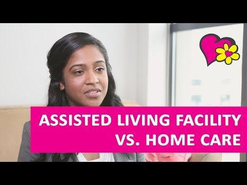 The Cost of an Assisted Living Facility vs Home Care