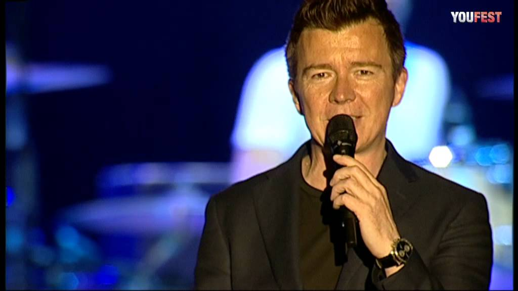 maxresdefault Rick Astley Never Gonna Give You Up Live