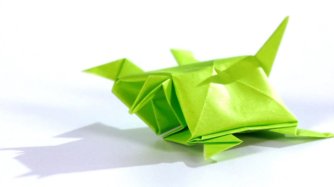 How To Make A Turtle Origami Youtube