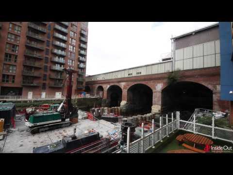 Leeds Station Southern Entrance (LSSE) Timelapse Film 1