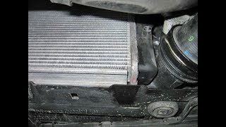 замена основного радиатора гольф 4. replacement of the main radiator golf 4