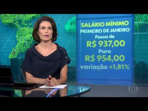 Temer assina decreto definindo salário mínimo de 2018 em R$ 954  Economia  G1