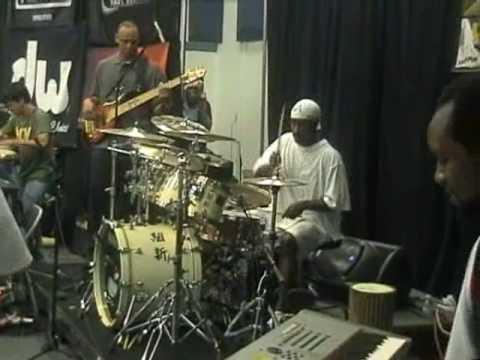 Sonny Emory Hypnofunk Drumsolo 2008