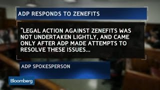 ADP Lawsuit Is 'Incredibly Ironic': Zenefits COO Sacks