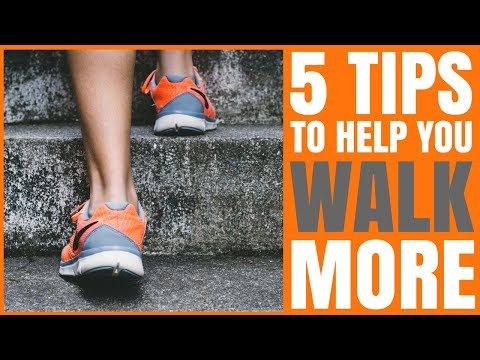 Are You Walking Enough? Lose Weight By Walking 30 Mins a Day and 5 Things To Help You Walk More!