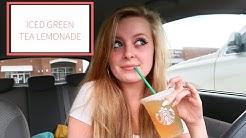 ICED GREEN TEA LEMONADE    STARBUCKS    FIRST IMPRESSION