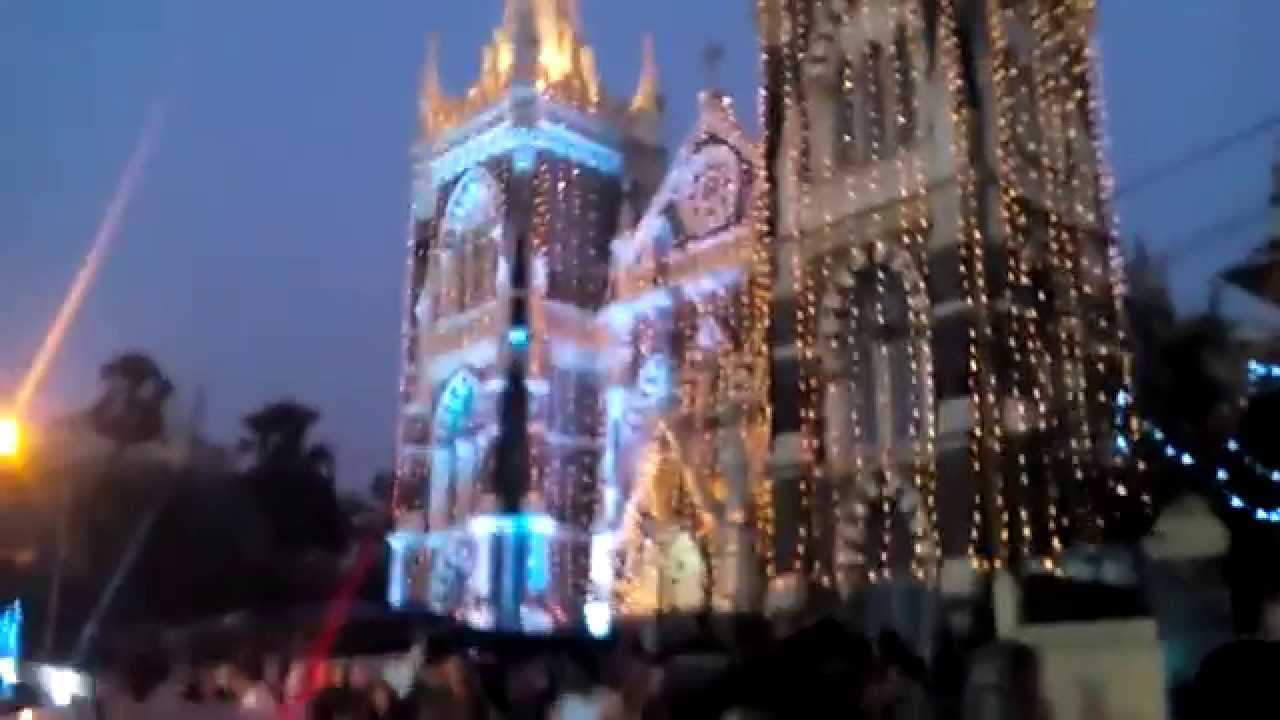 Christmas Celebration At Mount Mary Church Mumbai India 2015 HD ...