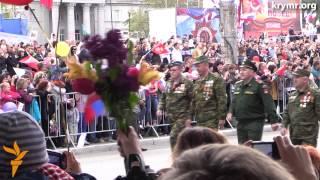 Парад 9 мая в Симферополе(В крымской столице прошел торжественный парад, посвященный 70-летию со Дня Победы. В мероприятии приняли..., 2015-05-09T12:56:03.000Z)