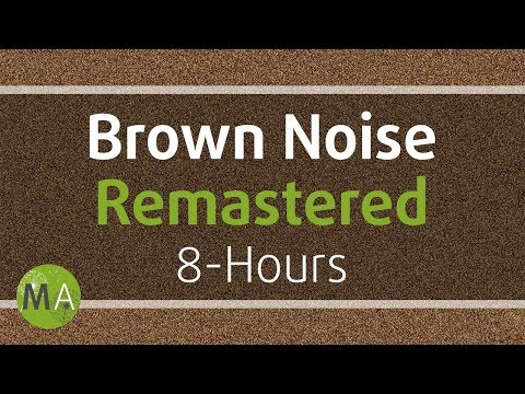 Smoothed Brown Noise 8-Hours - Remastered, for Relaxation, Sleep, Studying and Tinnitus ☯108
