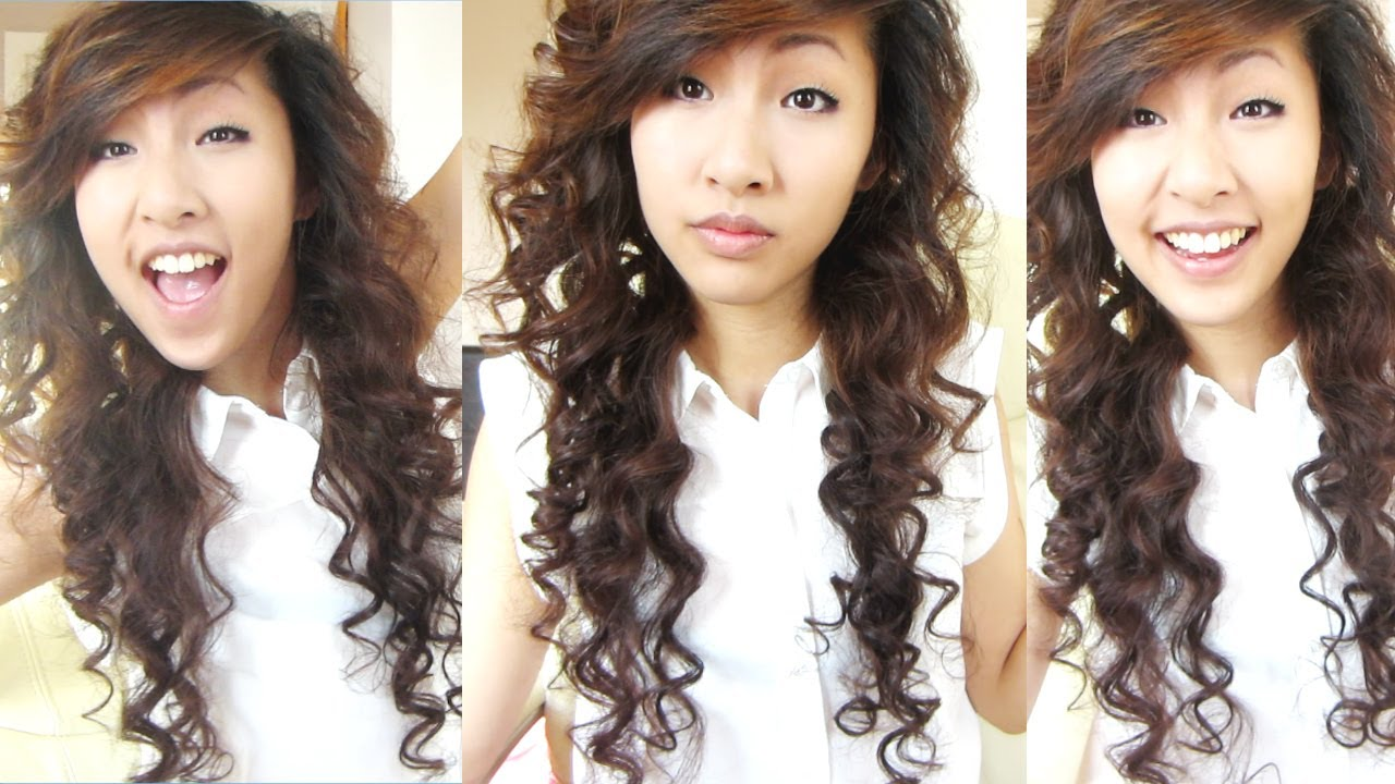 Heatless Curls Overnight Bendy Rollers Flexi Rods 2 Emily Liu You