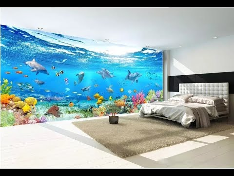 3d Wallpaper For Wall Latest As Royal Decor Youtube