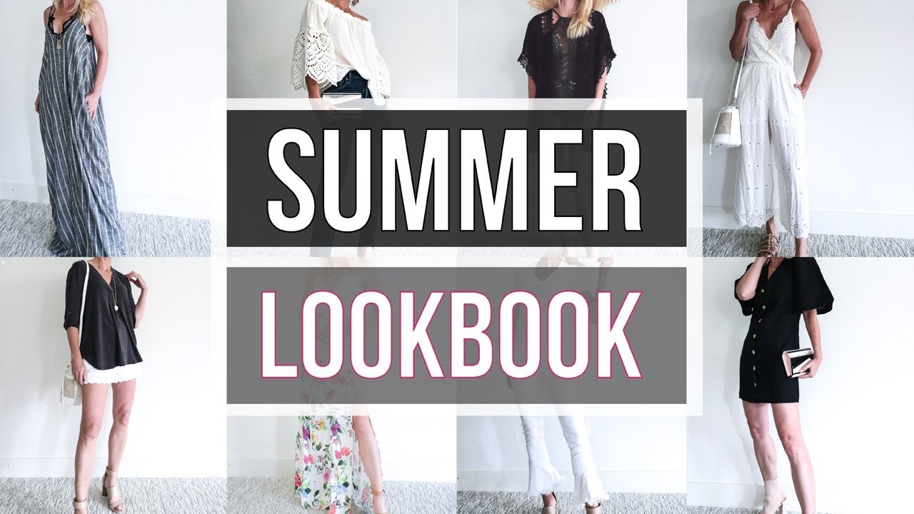 Summer LOOKBOOK 2018 | 10 Outfit Ideas!