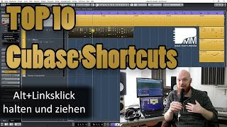 Top 10 Cubase Shortcuts ⏩ Schnelles Arbeiten mit Cubase!