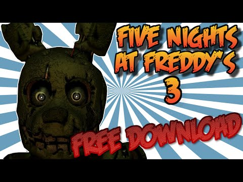 How To Download Five Nights At Freddy's 3 (For Free) 100% Working