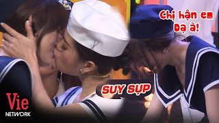 Hari Won suy sụp sau màn hôn môi mặn nồng với Lâm Vỹ Dạ, tội bà xã A Xìn quá =)))))