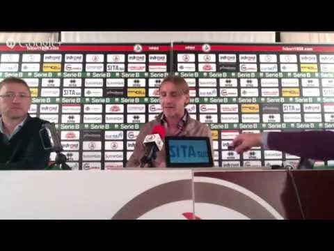Conferenza stampa Mister Davide Nicola