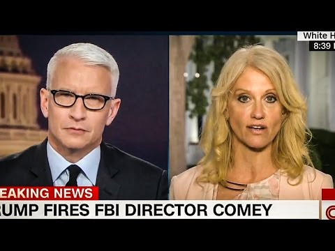 Anderson Cooper Hammers Kellyanne Conway On Comey Firing