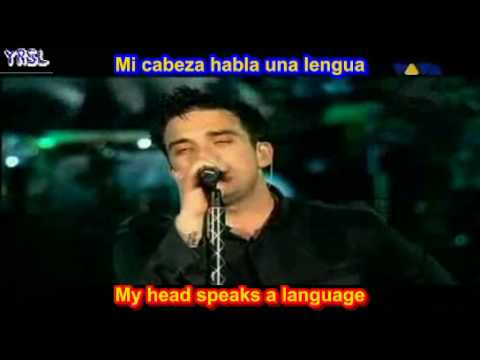 Robbie Williams - Feel ( SUBTITULADO EN ESPAÑOL & INGLES LYRICS SUB LETRAS )
