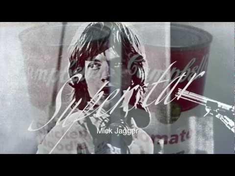 Superstar Andy Warhol - Music Video from my American Pop Art Album