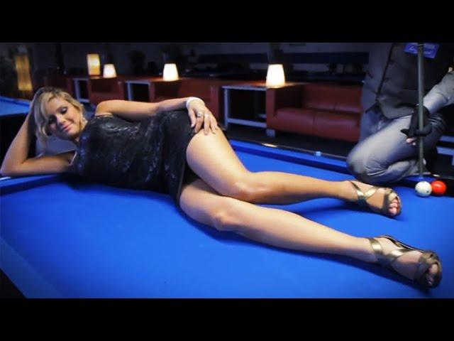 Venom Trickshots II- Episode III: Sexy Pool Trick Shots in Germany (HD)