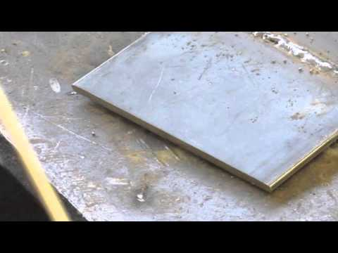 Stick Welding Thin Material with Small Electrodes
