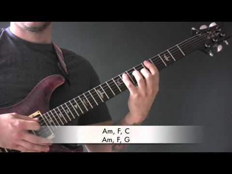 A Thousand Trees Guitar Lesson by Sterophonics