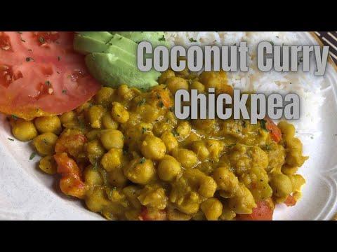 COCONUT CURRY CHICKPEA || PLANTBASED || #TASTY #CURRY #WINNIPEG #VEGETARIAN #VEGAN #JAMAICAN