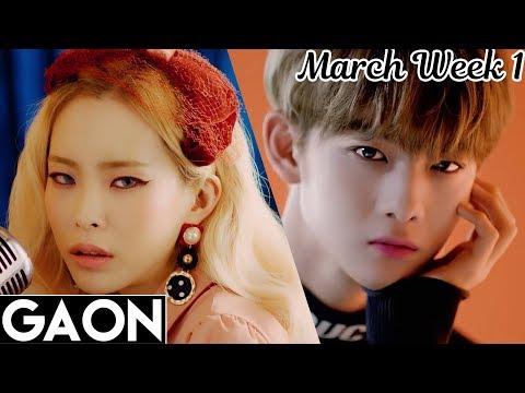 [TOP 100] Gaon Kpop Chart 2018 [March Week 1]