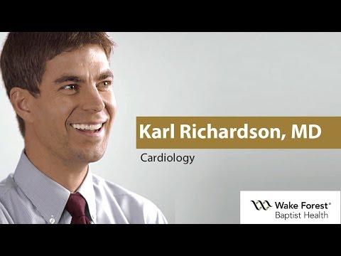 Karl Richardson, MD - Cardiology at Wake Forest Baptist Health