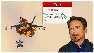 I Think I Met The WORST Jet Griefer on GTA 5 Online (Kid Ragequits)