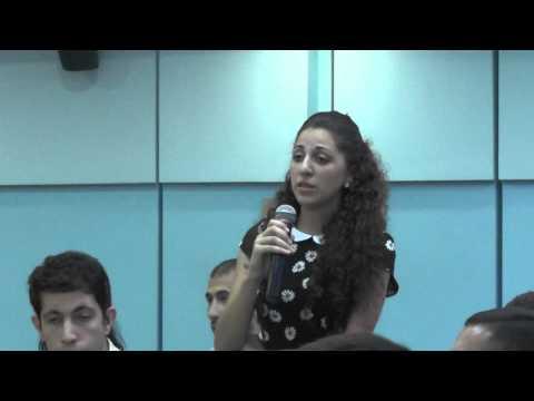 GPY Armenia Lilit Sahakyan Representative Of We For Democracy NGO