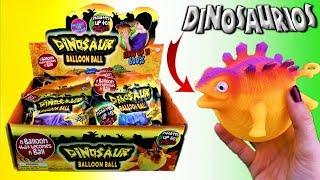 NUEVOS DINOSAURIOS INCHABLES | SE INFLAN Increible | Triceratops, Tiranosaurio, Pterosaurios