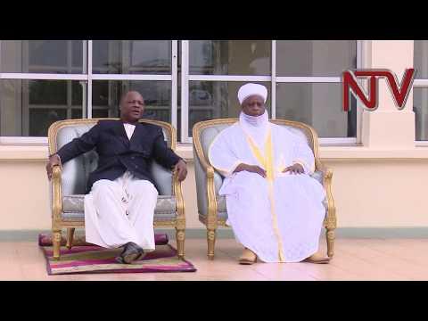 Kabaka Mutebi akyazizza Sultan w'e Sokoto okuva e nigeria