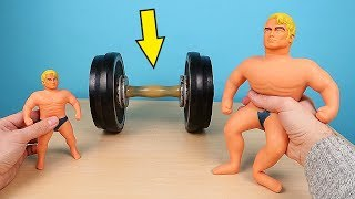 Фото Большой Стретч Армстронг против Гантели 15 кг! Big Stretch Armstrong! Alex Boyko