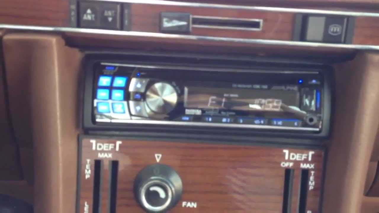 1977 Mercedes 450sl Fuse Box Trusted Wiring Diagrams 1976 Radio Alpine Cd Stereo Ipod Al Eds Autosound Convertible