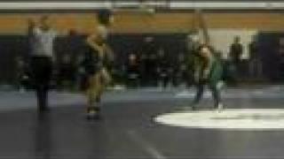 Andrew Tsai wrestling the female champion.