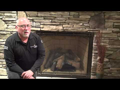 Gas Fireplace Odor Video