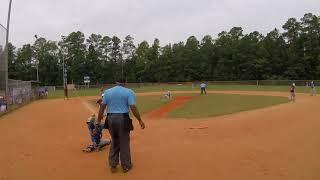 Top Gun Baseball 10U USSSA Baseball Pitcher Lefty Left Hand Pitcher