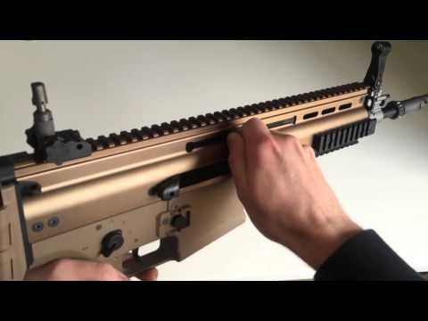 (Airsoft) We Scar H Gbbr . Unboxing And Shooting Test