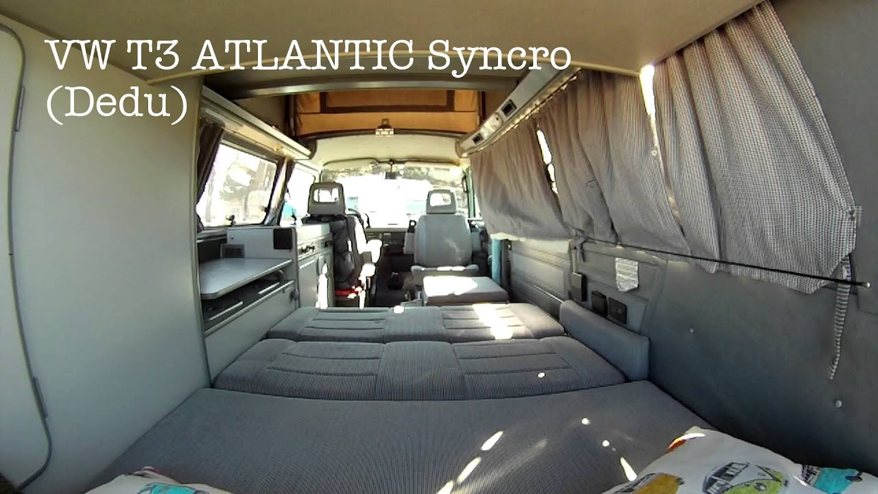 vw t3 atlantic syncro dedu youtube. Black Bedroom Furniture Sets. Home Design Ideas