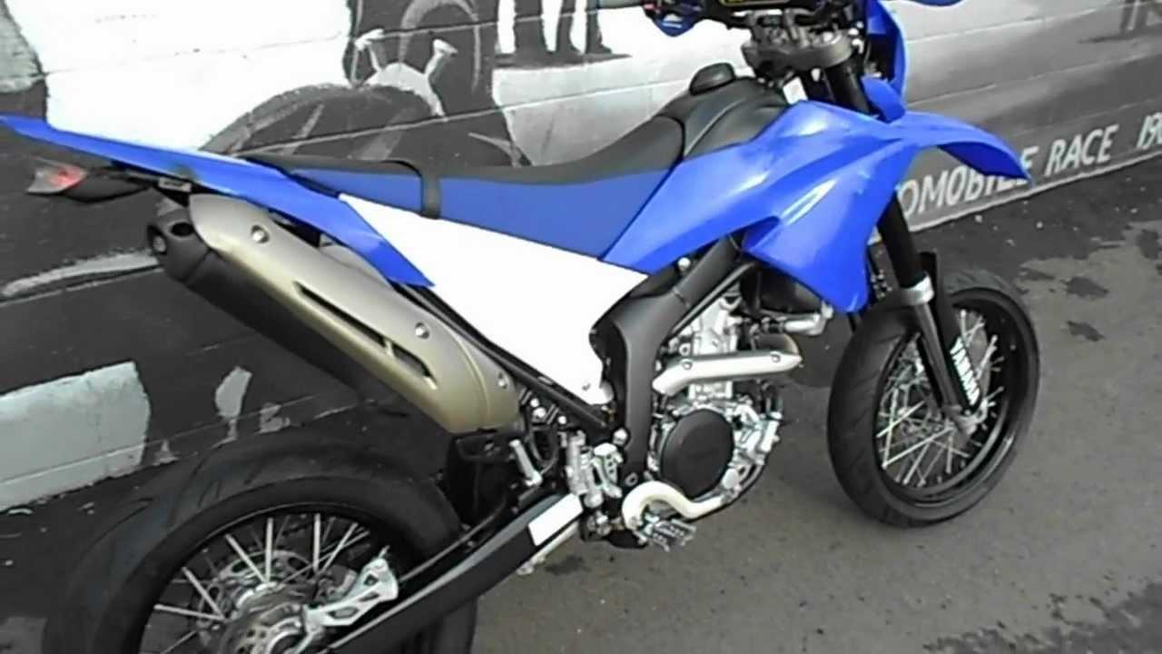 2008 Yamaha WR250X Super Moto.AVI - YouTube