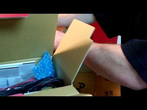 Unpacking of Pioneer AVH-P4200DVD