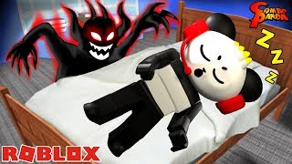 SCARIEST SLEEPOVER EVER IN ROBLOX ! Let's Play with Combo Panda