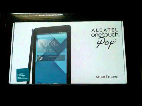 Alcatel onetouch pop 7 android tablet
