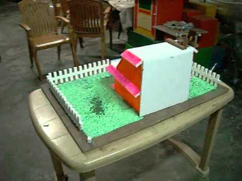 Energy efficient home school project