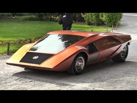 1970 Lancia Stratos Zero: A crazy concept from the Wedge Era - Sound & Driving on the Streets