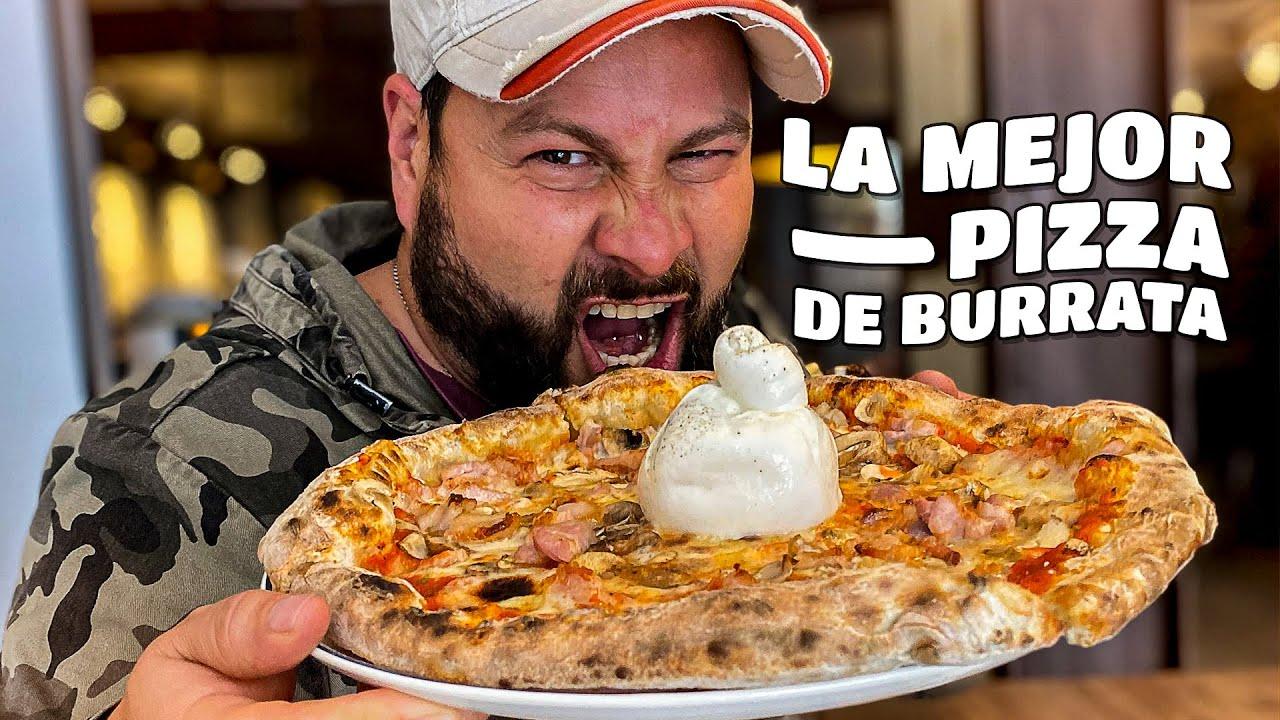 La Mejor Pizza de Burrata en Bogotá
