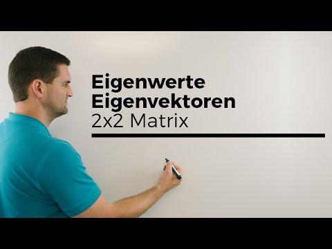 Eigenwerte, Eigenvektoren, 2x2