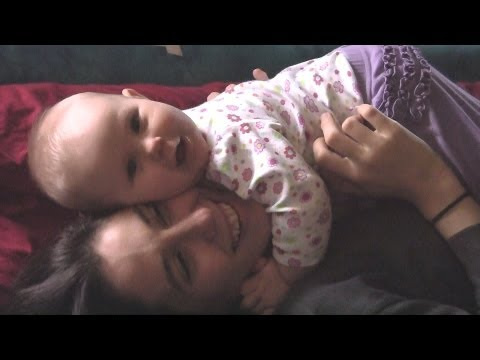Happiness & A Cute New Baby, Tips For Mom, How To Be Happy, Breastfeeding & A Crying Baby